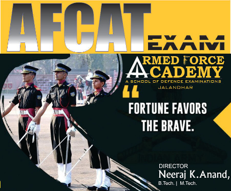 AFCAT coaching in Jalandhar, Neeraj Anand Classes
